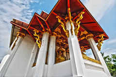 Alter siamesischer Tempel in Nordthailand HDR Lizenzfreie Stockfotos