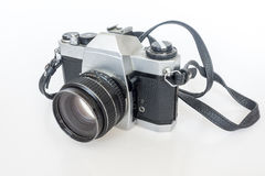 Alter SLR-Kamerafilm Stockbild