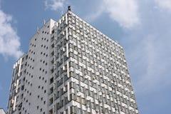 Alter sowjetischer Artwolkenkratzer Stockbild