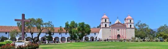 Alter spanischer Auftrag Santa Barbaras in Kalifornien, USA Lizenzfreie Stockfotos