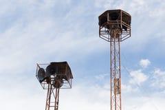 Alter Sprecher-Turm Stockfotografie