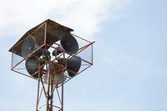Alter Sprecher-Turm Lizenzfreies Stockfoto