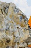 Alter stützender Buddha Stockbilder