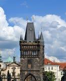 Alter Stadtbrückenturm Lizenzfreie Stockfotos