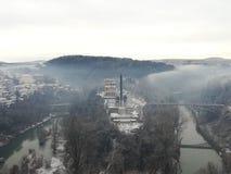 Alter Stadtflusswald Lizenzfreies Stockbild