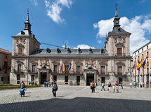 Alter Stadtrat von Madrid Spanien Stockfoto