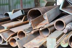 Alter Stahl Lizenzfreies Stockfoto