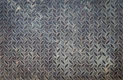 Alter Stahlboden-Designhintergrund Lizenzfreie Stockfotos