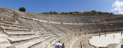 Alter Standort Ephesus, die Türkei Stockbilder