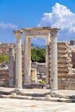 Alter Standort Ephesus, die Türkei Lizenzfreie Stockfotos