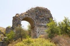Alter Standort Ephesus, die Türkei Lizenzfreies Stockbild