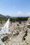 Alter Standort Ephesus, die Türkei Lizenzfreie Stockbilder