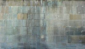 Alter Stein blockiert Wandbeschaffenheitshintergrund Stockfotos