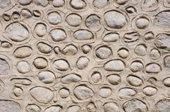 Alter Stein mit Gipswand Lizenzfreies Stockfoto