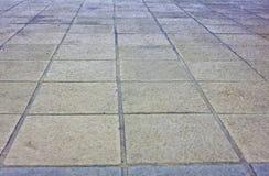 Alter Steinboden Stockbilder