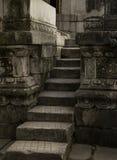 Alter Steinschritt Stockbilder