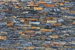 Alter Steinwand-Hintergrund Stockbilder