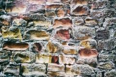 Alter Steinwand-Hintergrund Lizenzfreies Stockfoto