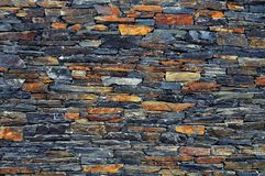 Alter Steinwand-Hintergrund Lizenzfreies Stockbild