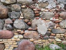Alter Steinwand-Hintergrund Lizenzfreie Stockfotos