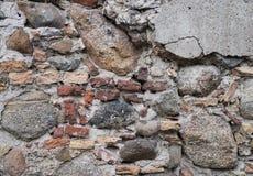 Alter Steinwand-Hintergrund Lizenzfreie Stockfotografie