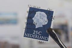 Alter Stempel von den Niederlanden Lizenzfreie Stockfotos