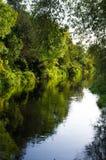 Alter Stour Fluss Canterburys Lizenzfreies Stockfoto