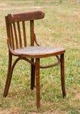 Alter Stuhl der Großmutter Lizenzfreie Stockfotos
