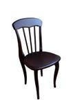 Alter Stuhl lokalisiert auf weißem Hintergrund Stockbild