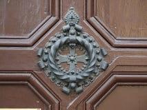 Alter Tür-Klopfer Stockbild