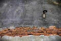 Alter Tür- und Wandtempel in Thailand Stockbilder