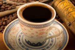 Alter türkischer Kaffee Lizenzfreie Stockbilder