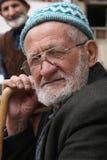 Alter türkischer Mann Stockfoto