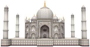 Alter Taj Mahal Illustration Isolated Stockbilder