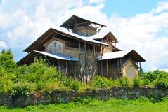 Alter Tempel in Abchasien stockbild