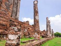 Alter Tempel-Architektur in historischem Park Ayutthaya, Ayutthaya, Stockfotos