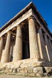 Alter Tempel Athens Lizenzfreie Stockfotos