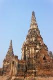Alter Tempel in Ayudthaya Lizenzfreies Stockbild