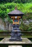 Alter Tempel in Bali, Indonesien stockbild