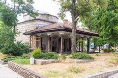 Alter Tempel in der Herzstadt von Karlovo, Bulgarien Lizenzfreie Stockfotografie