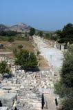 Alter Tempel in Ephesus Stockbilder