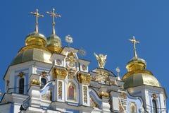 Alter Tempel gegen den Himmel Lizenzfreies Stockfoto