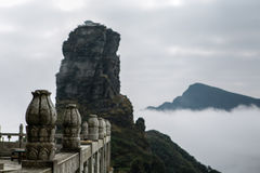 Alter Tempel im Berg Lizenzfreies Stockfoto