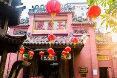 Alter Tempel Jade Emperor Pagoda, Ho Chi Minh City, Vietnam stockbilder