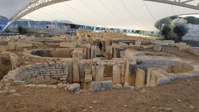 Alter Tempel Malta Stockbild