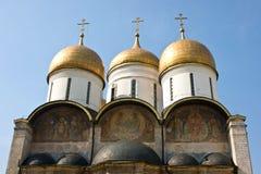 Alter Tempel in Moskau Stockbild