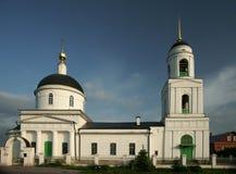 Alter Tempel in Moskau Stockfoto