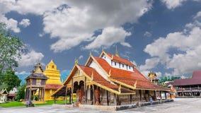 Alter Tempel Sri Pho Chai des Sangha ist in 400 Jahren alt stock footage