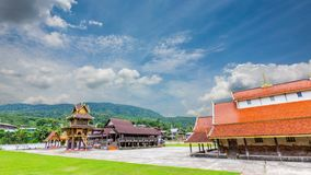 Alter Tempel Sri Pho Chai des Sangha ist in 400 Jahren alt stock video