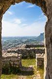 Alter Tempel in Terracina, Lazio, Italien Stockfotos